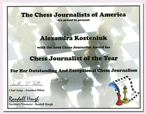 CHESS NEWS BLOG: chessblog com: I want you to Join the CJA